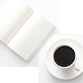 일기장과 커피