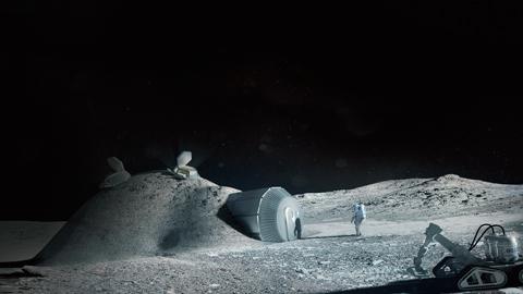달 토양으로 우주호텔 짓는다