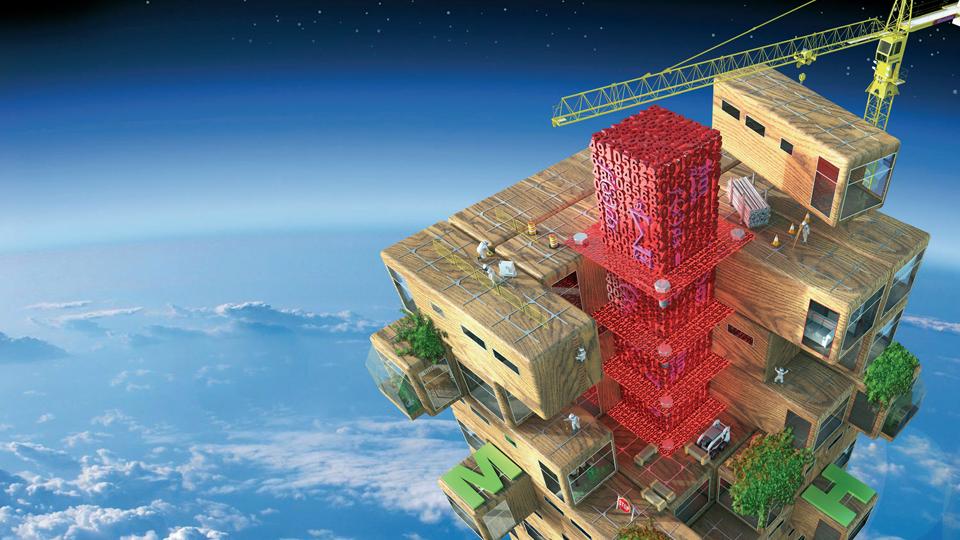 수학으로 쌓아올린 미래도시, 초고층건물