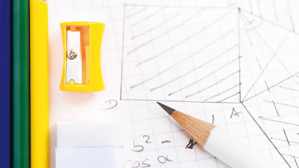 연필과 수학의 필연적 만남