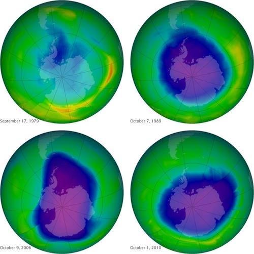 1979년이후 커져온 남극의 오존구멍 [자료사진]