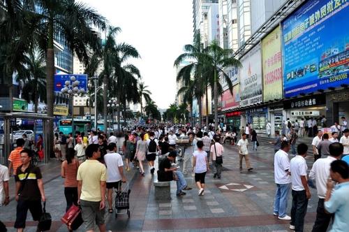 중국판 실리콘밸리로 불리는 선전의 도심 [플리커 이미지]