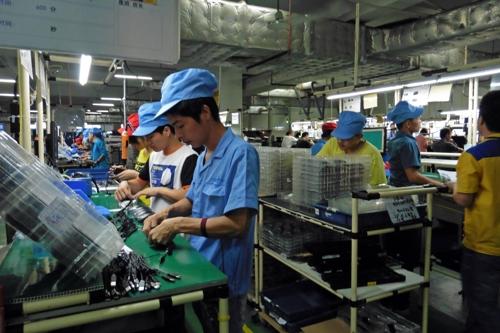 중국의 한 스타트업 공장 [위키미디어]