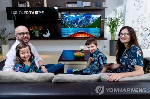 LG전자, 인공지능 올레드 TV 글로벌 판매