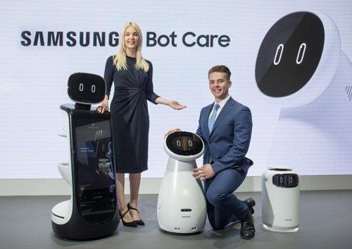 삼성 AI 프로젝트…'웨어러블·케어로봇' CES서 첫 공개
