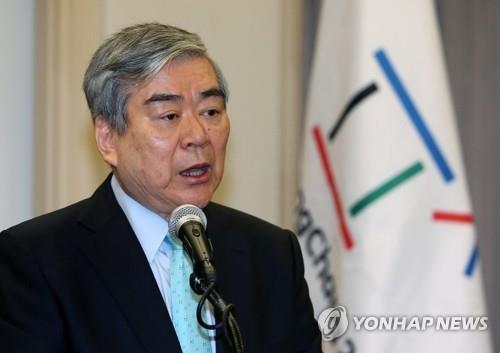 평창올림픽 조직위원장으로 활약했던 조양호 한진그룹 회장