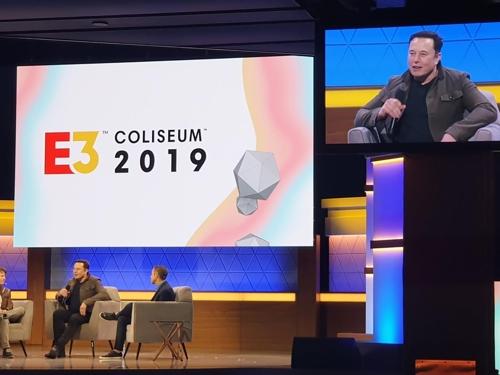 게임쇼 'E3 2019' 좌담회에 나온 일론 머스크