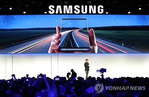 2019 CES에서 빅스비 혁신 설명하는 삼성전자 김현석 사장