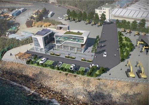자율운항선박 성능실증센터 조감도