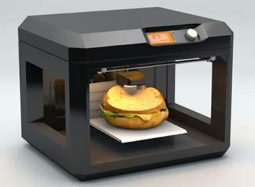 음식을 만드는 3D 프린터