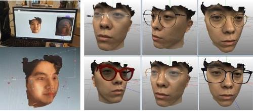 데이터 기반 맞춤 안경 서비스 사례