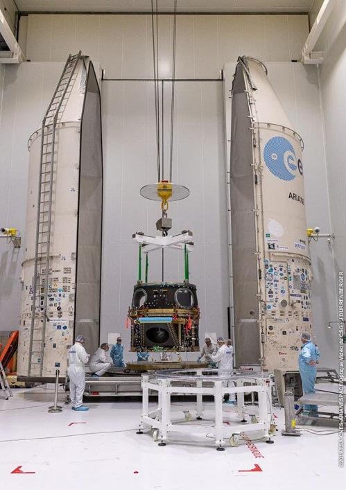 소유스 로켓에 실릴 모듈에 탑재되는 키옵스