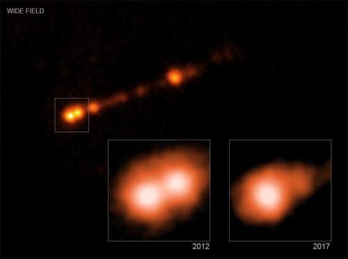 1만8천광년 걸쳐있는 M87* 제트