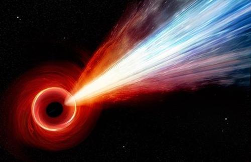 M87 은하 블랙홀 상상도
