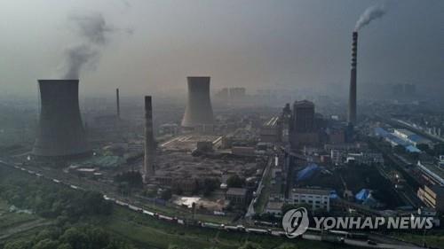 중국의 석탄화력발전소