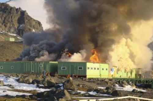 2012년 브라질 남극 과학기지 화재