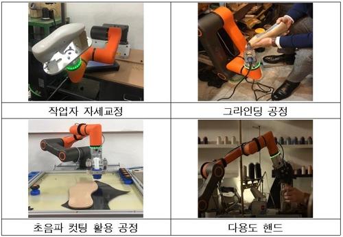 성수동 수제화 공방의 협동로봇
