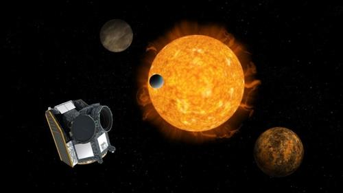 ESA 외계행성 탐사 위성 키옵스 상상도
