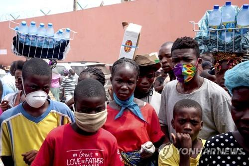 코로나·기아 이중고 겪는 앙골라 주민들