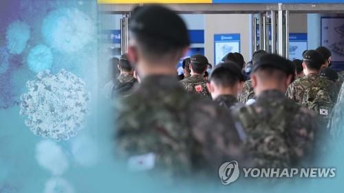 오늘부터 입영장정 코로나19 전수검사… (CG)