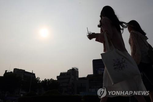 광주시 전역에 폭염주의보(자료사진)