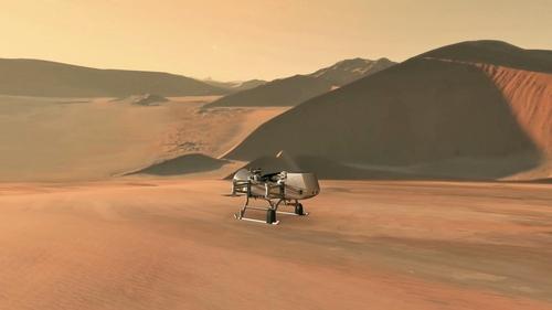 토성 위성 타이탄에 파견될 '드래건플라이' 상상도