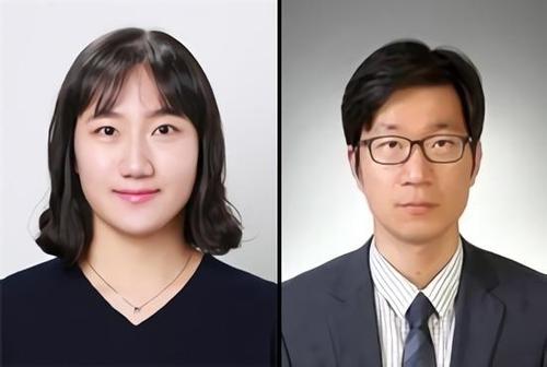 KIST 황윤정 박사(왼쪽)과 숙명여대 김우열 교수
