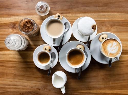 카페인이 든 커피
