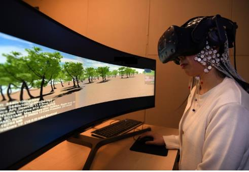 뇌파 측정 실험