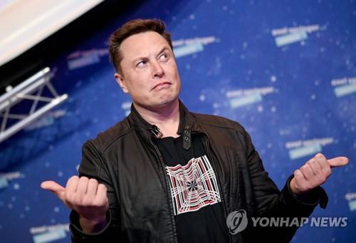테슬라 최고경영자 일론 머스크