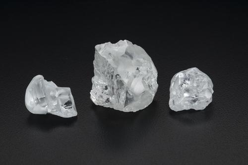 레소토 렛셍광산에서 채굴된 CLIPPIR 다이아몬드 원석
