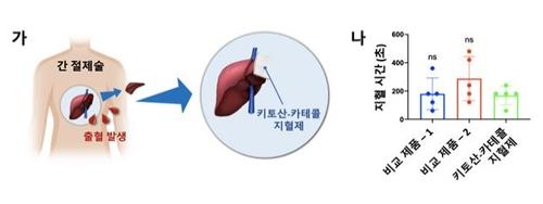 간 절제 환자 대상 지혈 효과 임상시험