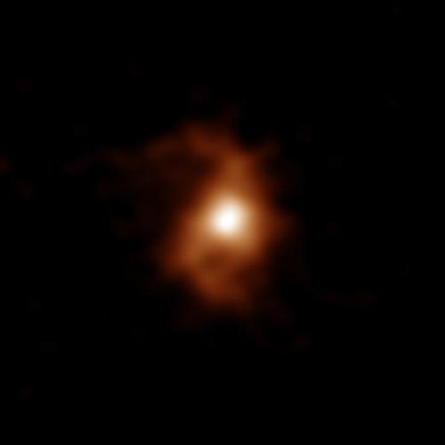 ALMA로 포착한 'BRI 1335-0417' 은하
