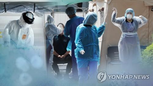 코로나19 의료진들의 모습 (CG)