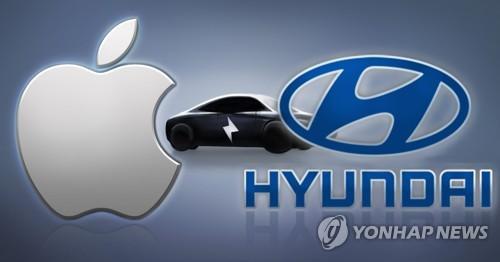 현대차 - 애플 전기차 협력 논의 (PG)