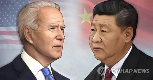 바이든 미국 대통령 - 시진핑 중국 국가주석 (PG)