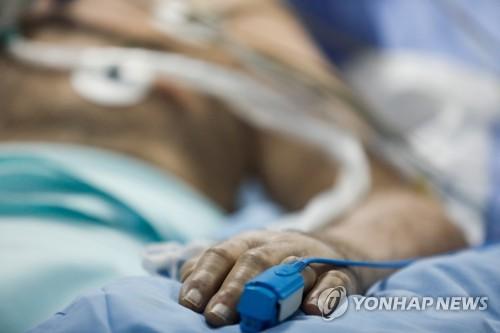 입원치료 중인 코로나19 환자