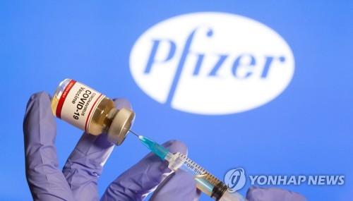 미국 제약사 화이자가 갭라한 코로나19 백신