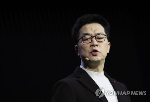 '인공지능 발전 단계' 발표하는 박일평 사장