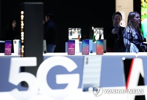 삼성 스마트폰 갤럭시 5G 라인업