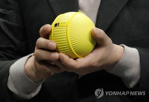 CES 기조연설서 공개된 삼성전자 로봇 '볼리'