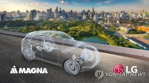 LG전자-마그나, 전기차 파워트레인 합작법인 설립