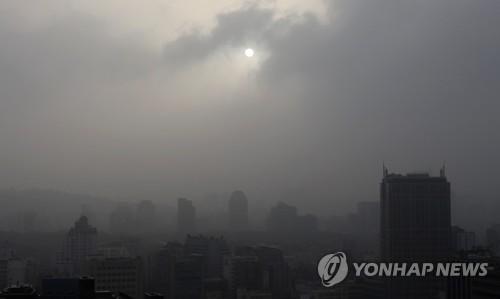 서울 전역에 '황사 경보' 발효