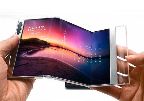 삼성디스플레이 차세대 OLED 기술 'S폴더블'